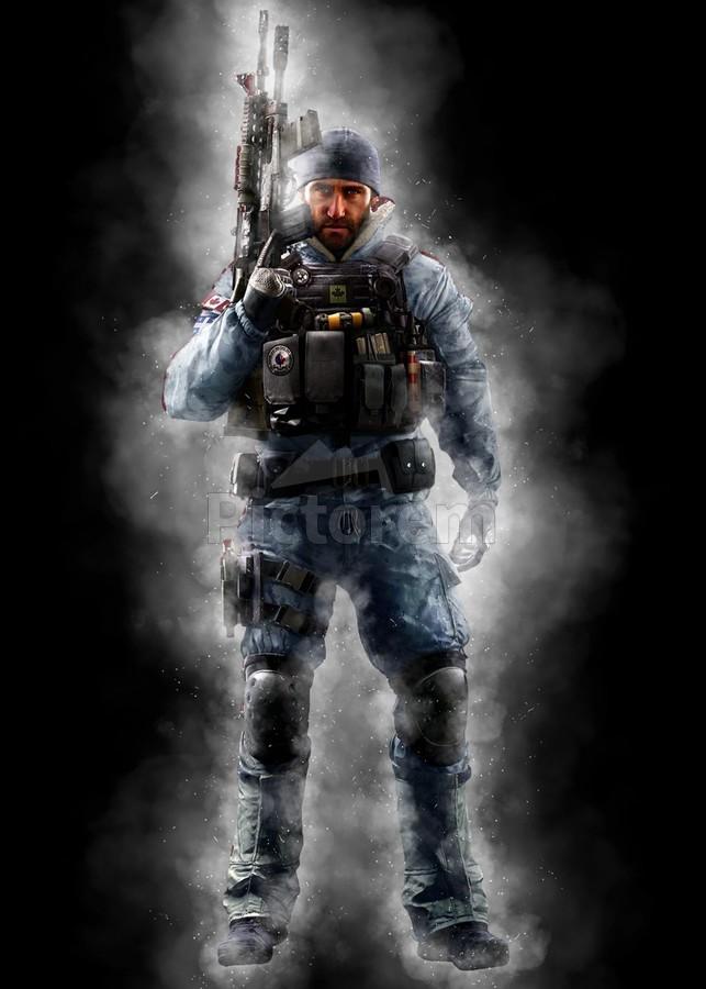 Buck Operator From Rainbow Six Siege Game Gunawan Rb