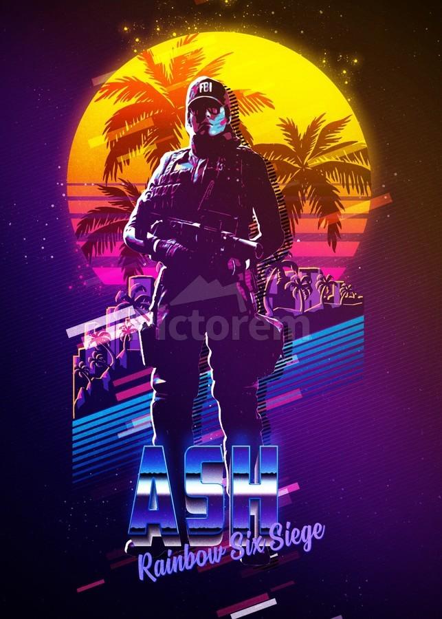 Ash Rainbow Six Siege 3 Gunawan Rb