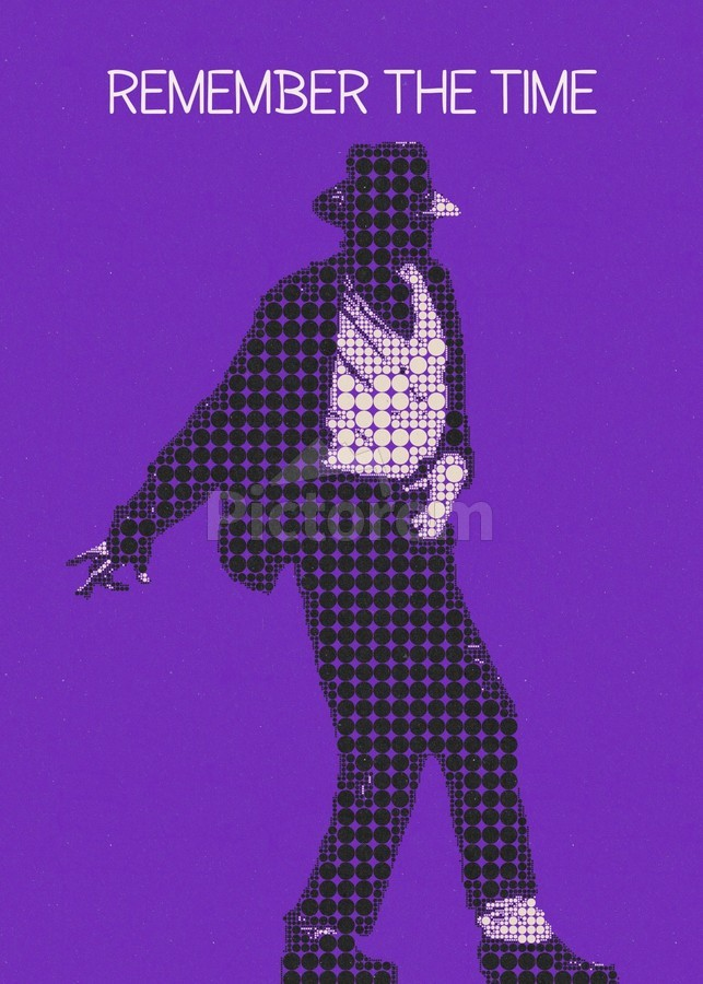 remember the time   Michael Jackson  Print