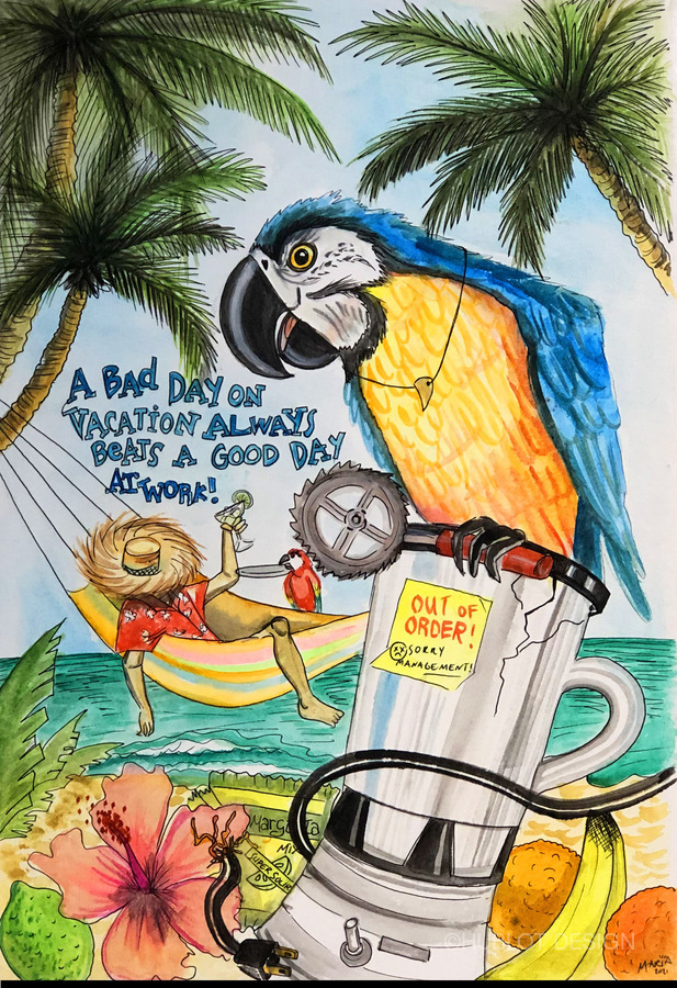 vacationparrot  Imprimer