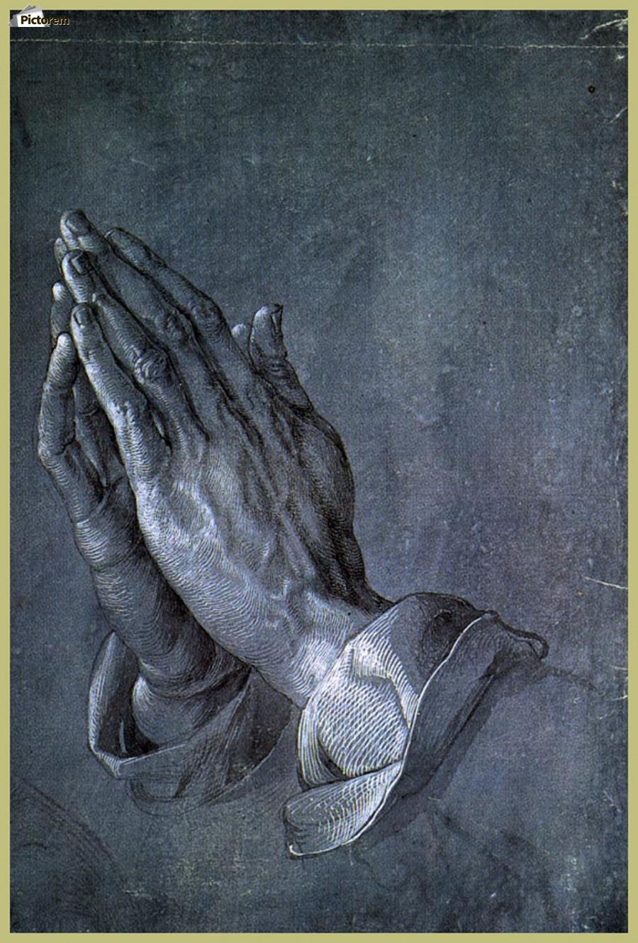 Hands of an Apostle  Print
