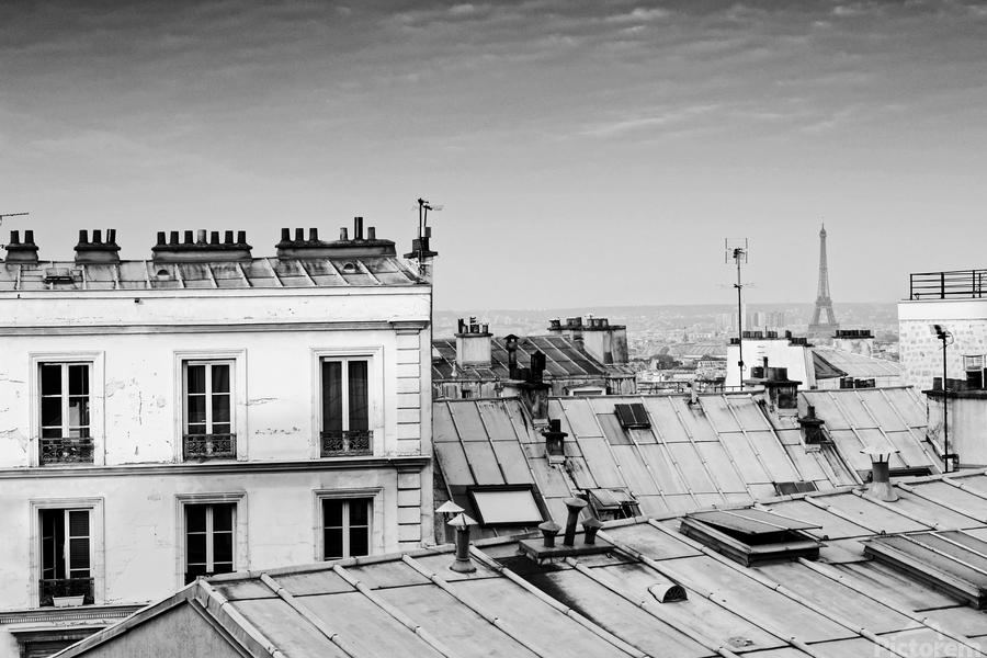 Roofs of Paris   Imprimer
