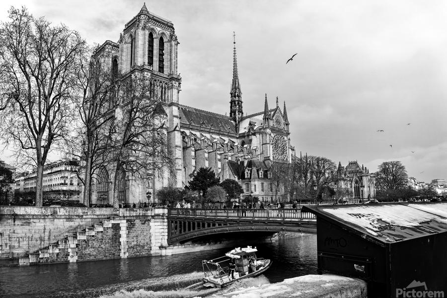 Parisian river police  Imprimer