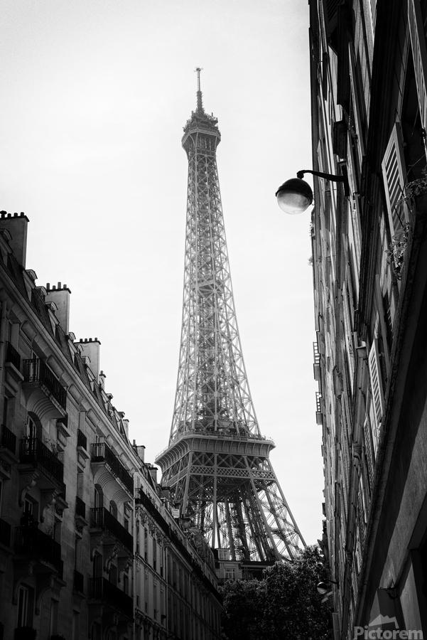 Under the Eiffel tower   Imprimer