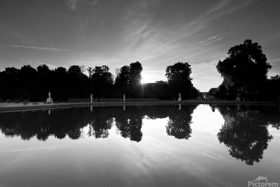 Tuileries reflection  Imprimer
