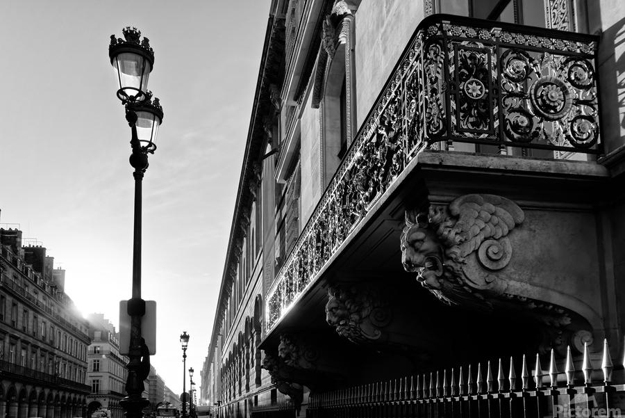 Rivoli balcony  Imprimer
