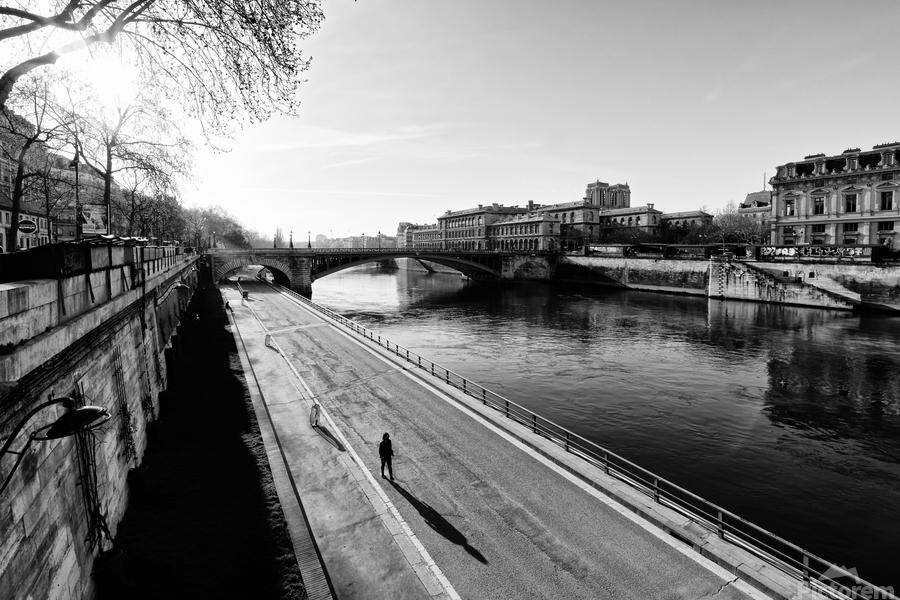 Alone in Paris  Imprimer