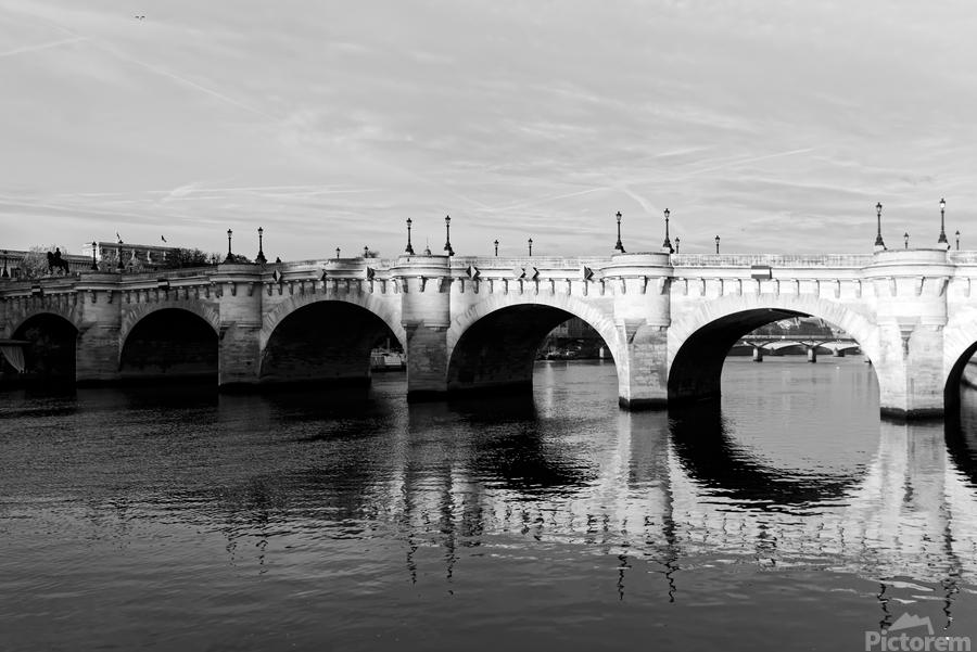 Pont Neuf Reflection  Imprimer