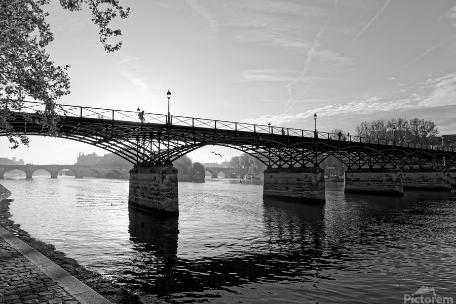 Pont des arts sunrise  Imprimer