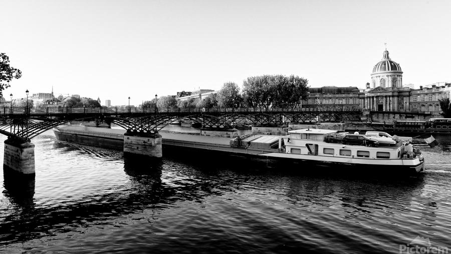 Under the Pont des Arts  Imprimer