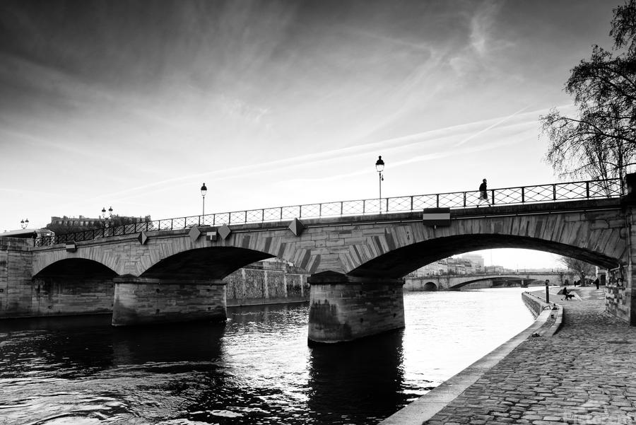 Archeveche bridge  Imprimer