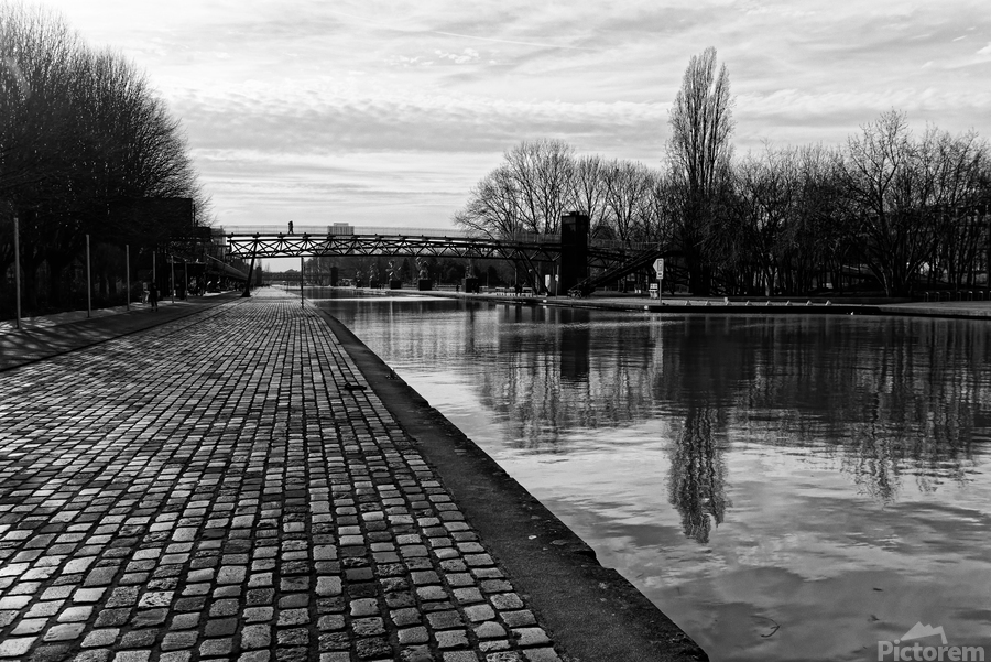 Ourcq canal  Imprimer