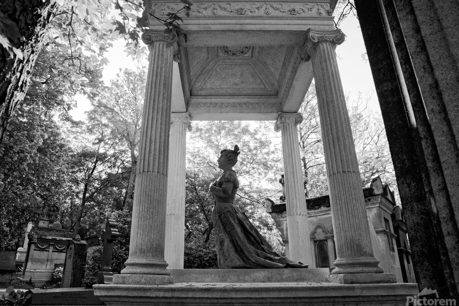 Graveyard lady  Imprimer