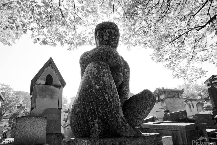 Pere-Lachaise statue  Imprimer