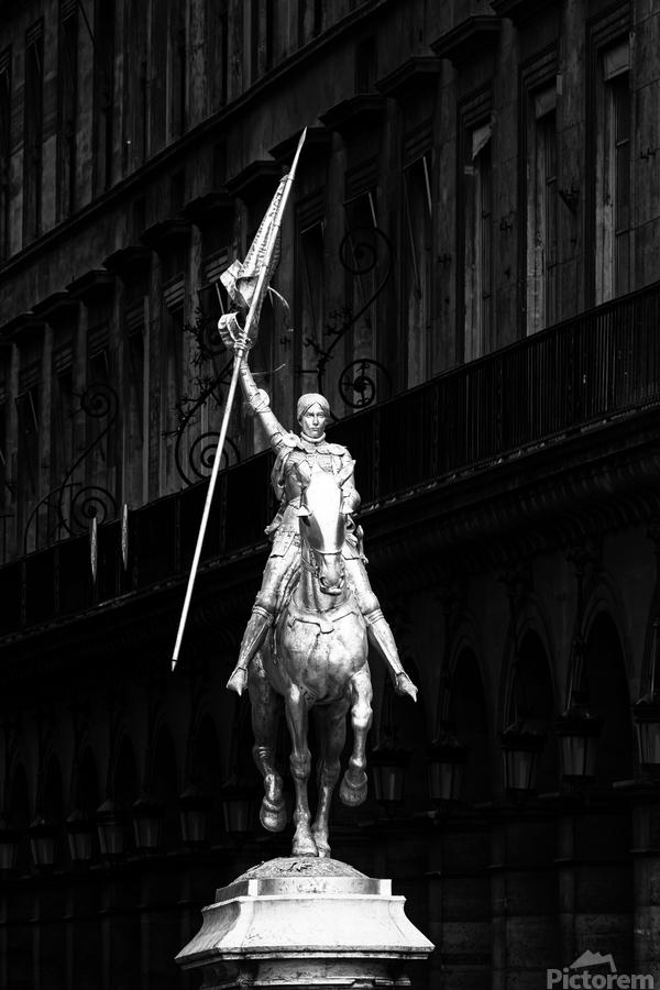 Joan of Arc statue   Imprimer