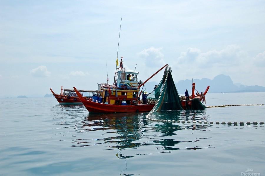 Bangkok - The Fisherman  Print