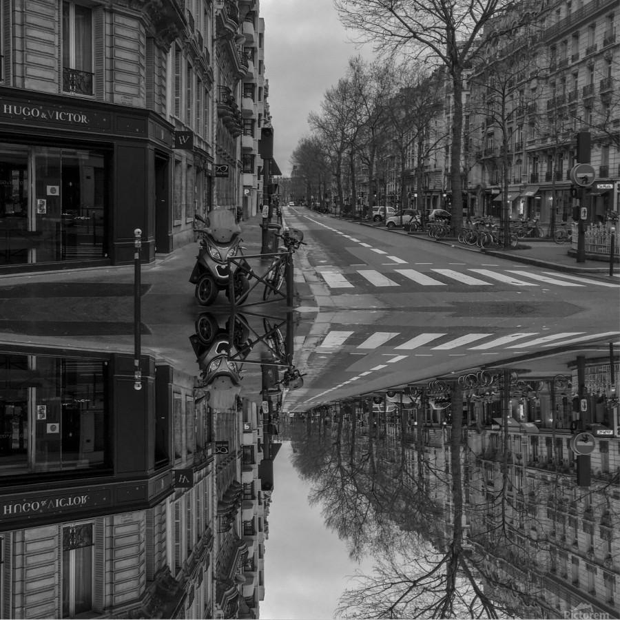 Paris - Street  2018  Print