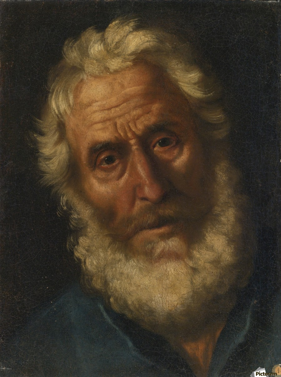 Head of a philosopher  Imprimer