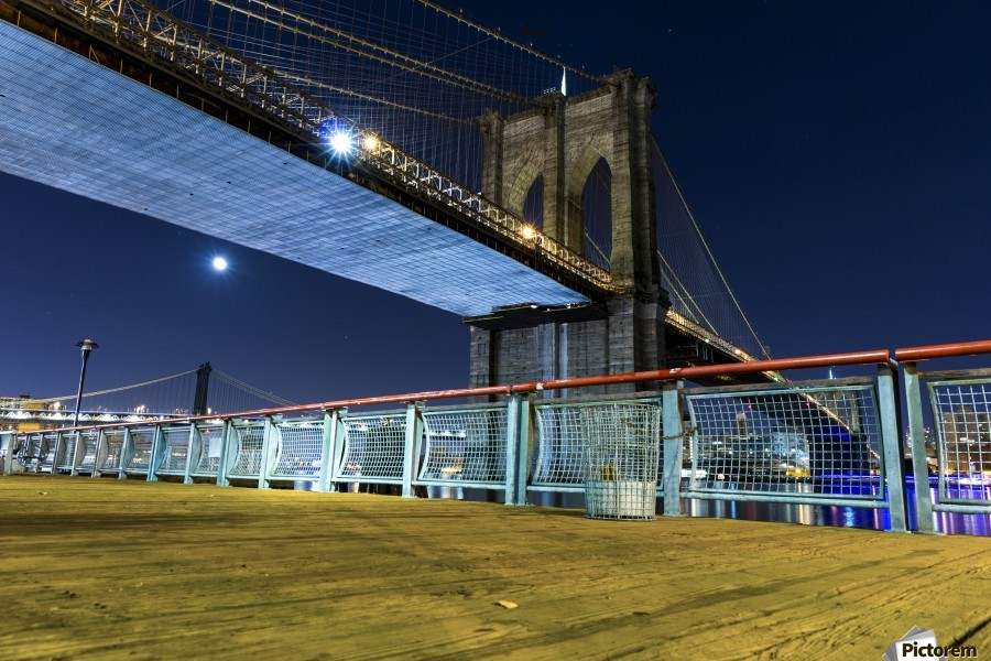 The Brooklyn Bridge 0  Print