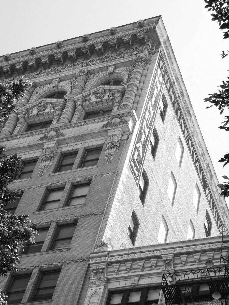 Continental Building DTLA - B&W  Print