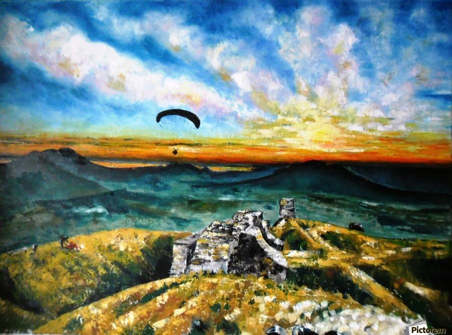 Paragliding  Print