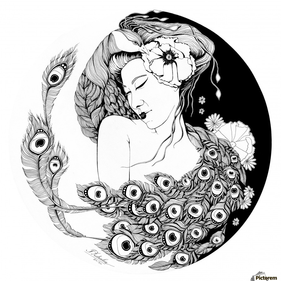 Asian Song  Print