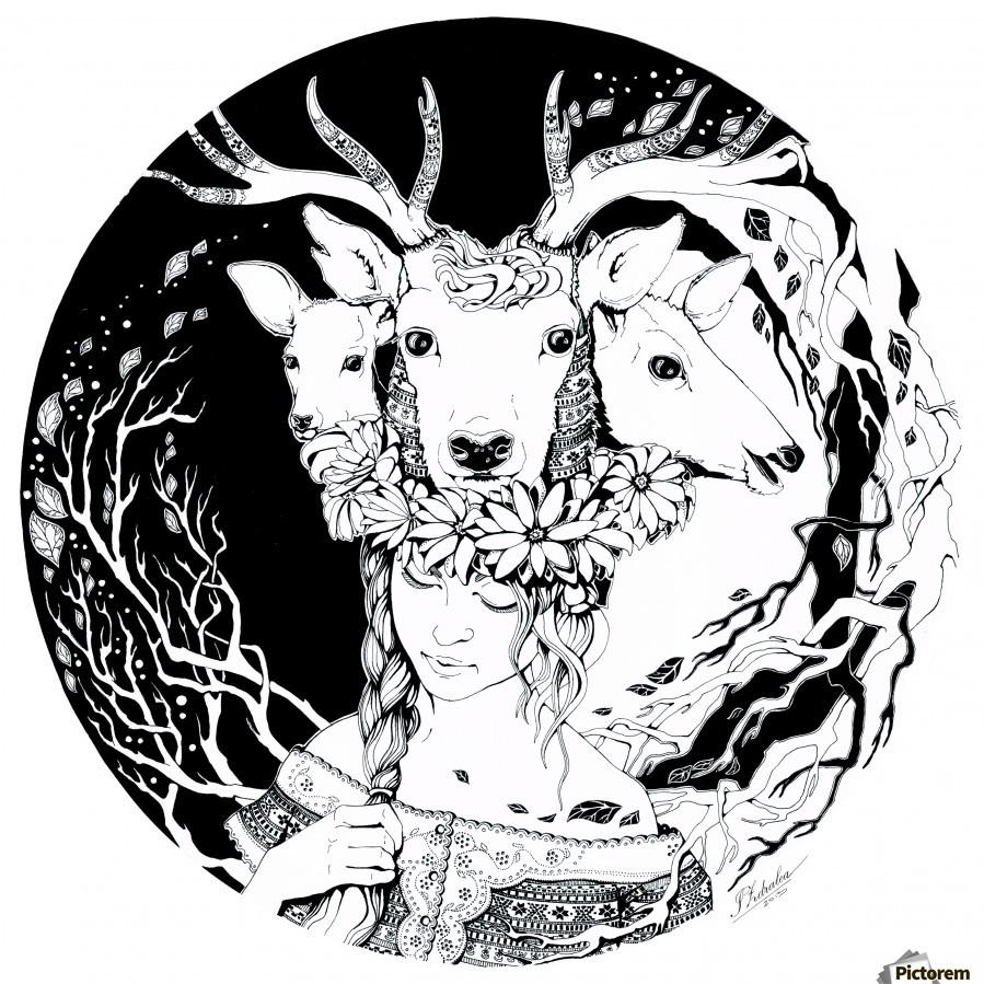 Charpatian Soul  Print