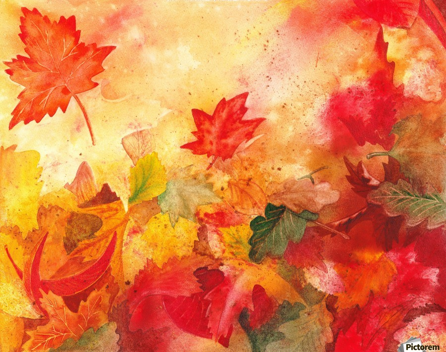 Autumn Leaves Serenade Irina Sztukowski Canvas