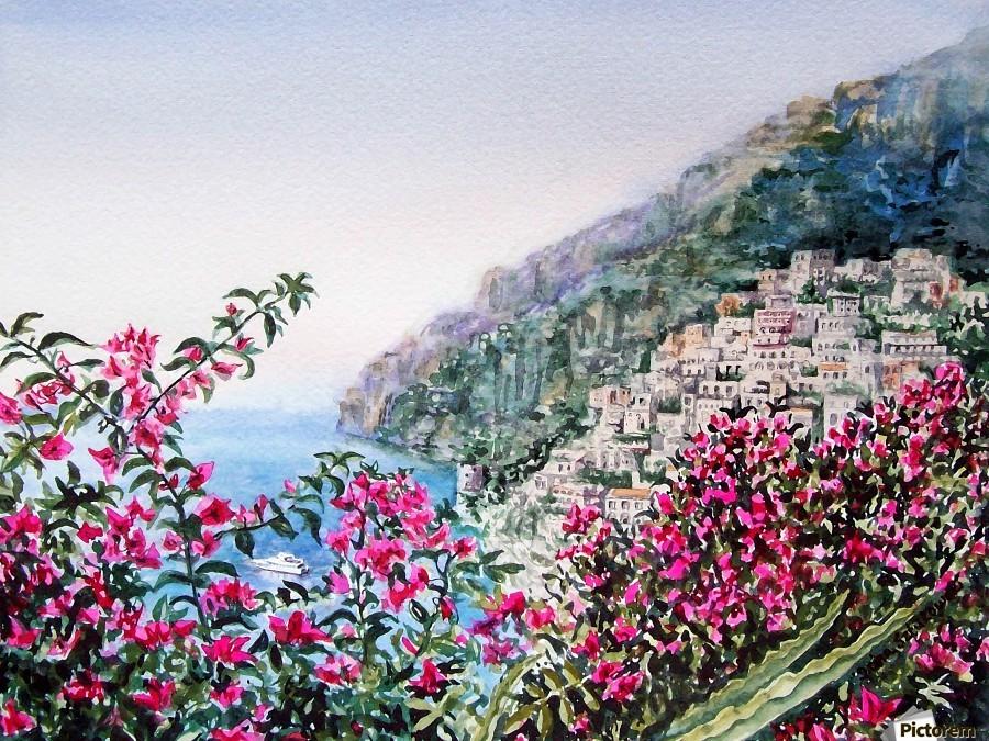 Positano Italy  Print