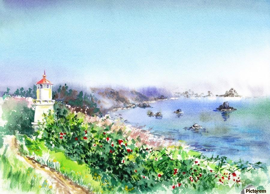 Lighthouse Trinidad California  Print