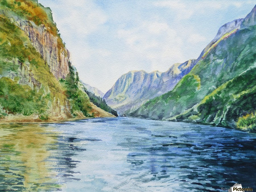 Norway Fjord  Print