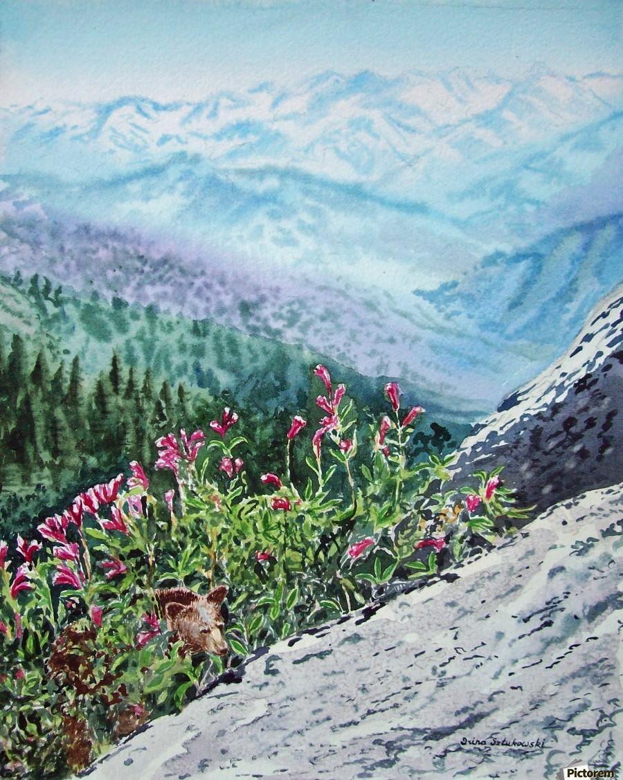 Mountains Of Sequoia   Print