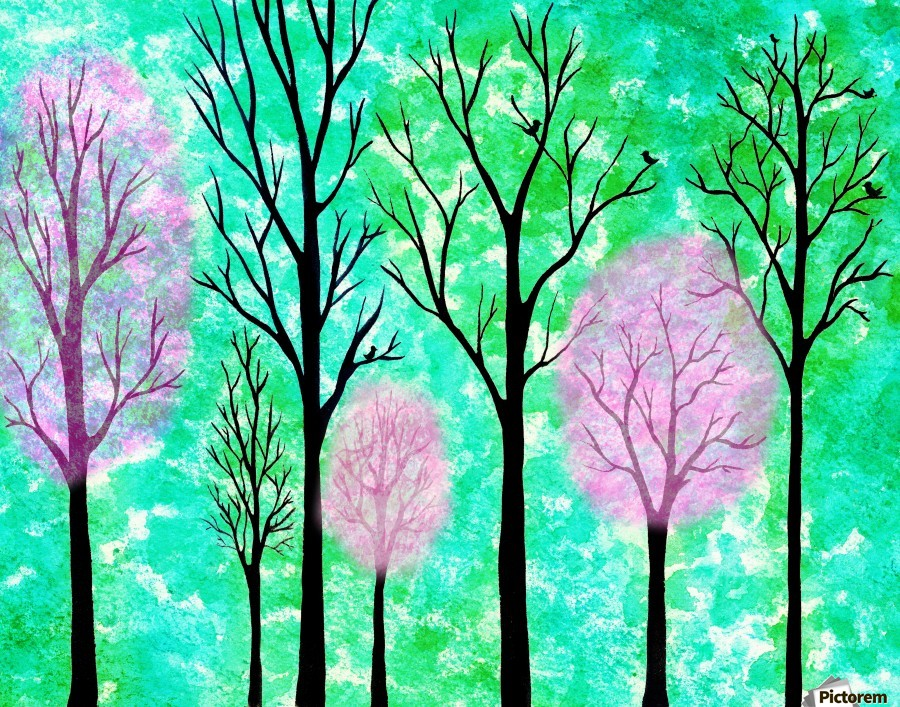 Spring Forest  Print