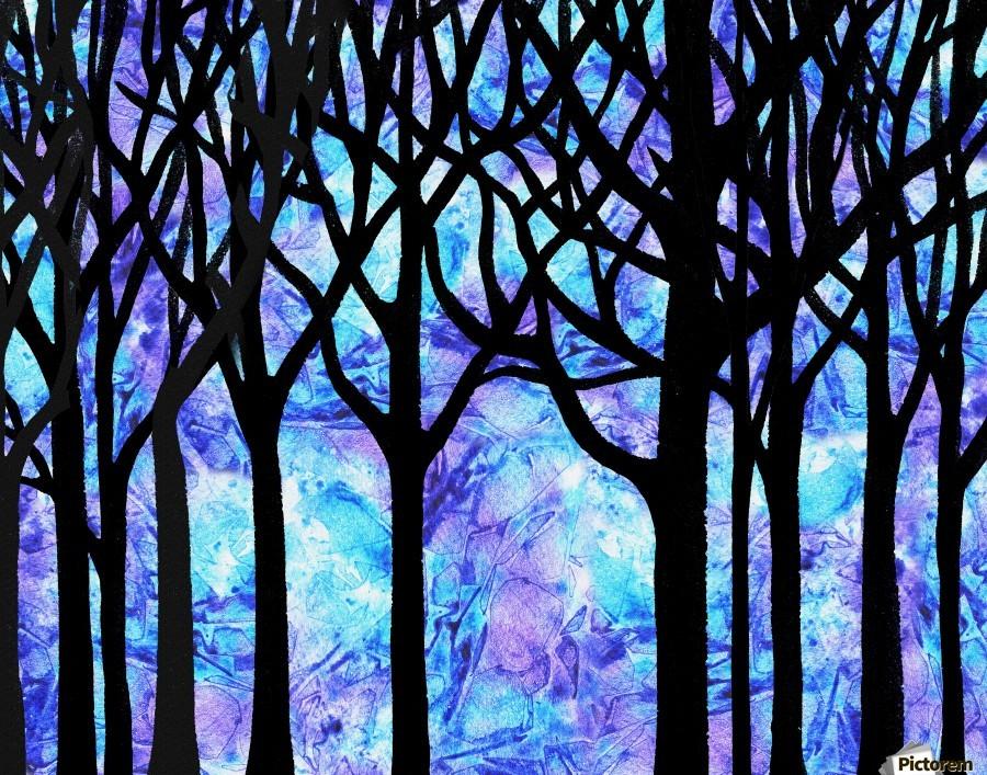 Frozen Forest  Print