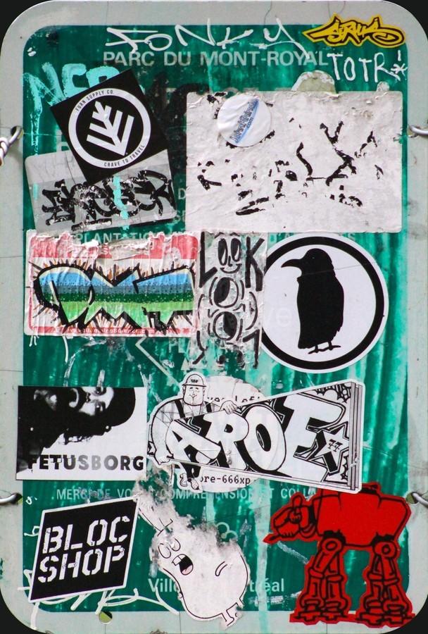 Mount Royal Graffiti  Print