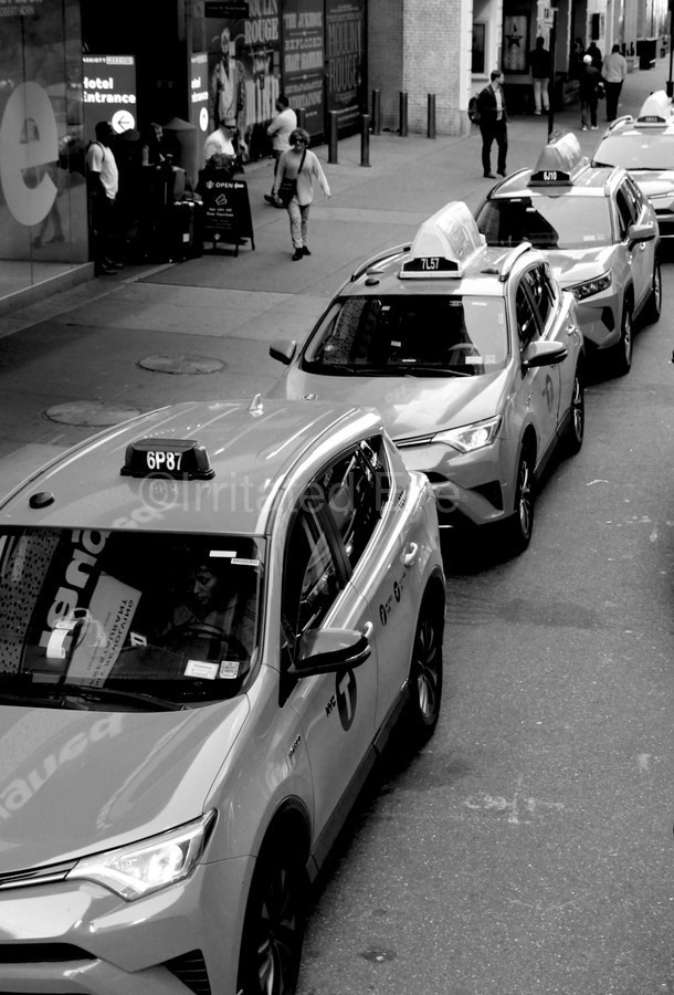 New York Taxis  Print