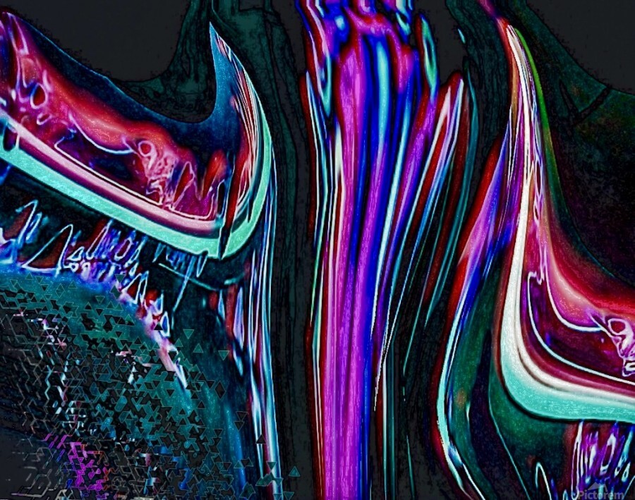 Colorful Distortions  Print