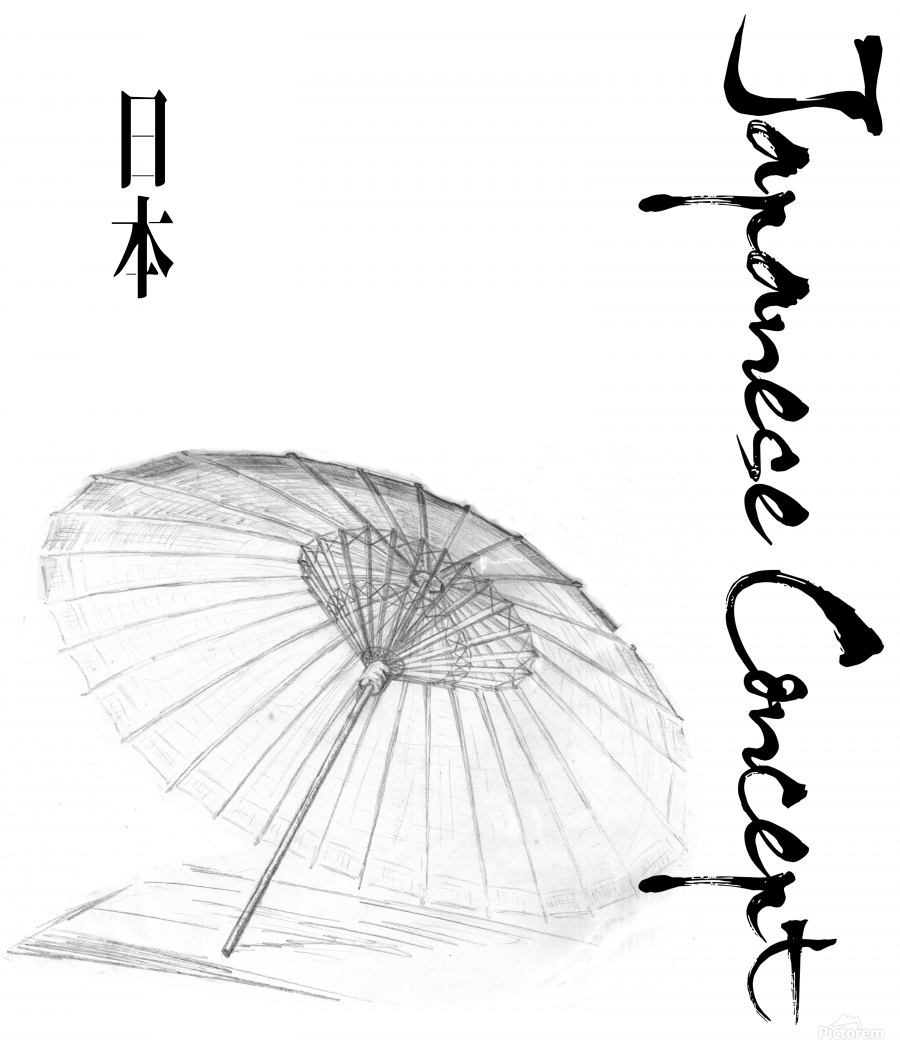 Japanese Concept 03A  Print