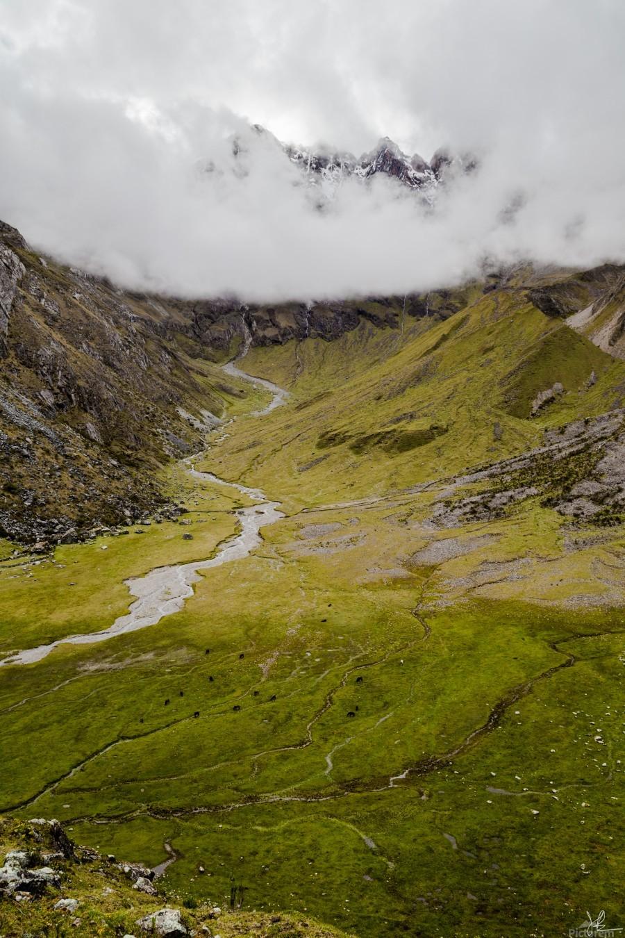 Cusco Valley  Print