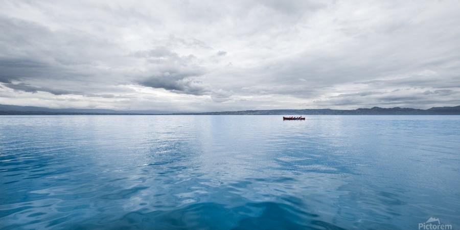 Lac Évian  Imprimer