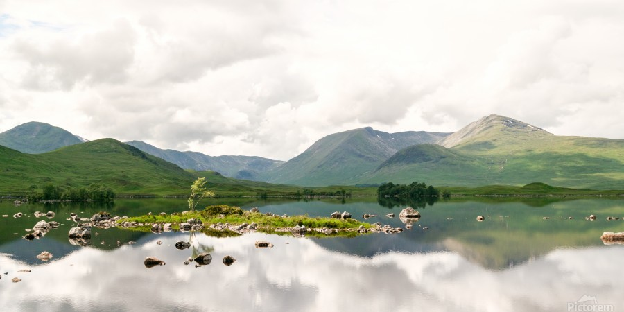 Lac Mirroir de Glencoe  Imprimer