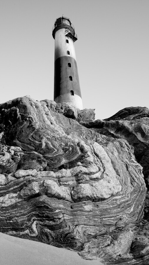 Lighthouse on Twisted Rock  Print