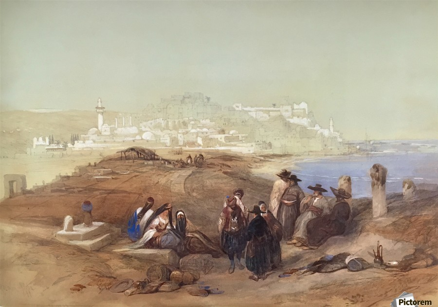 Jaffa, View from South  Print
