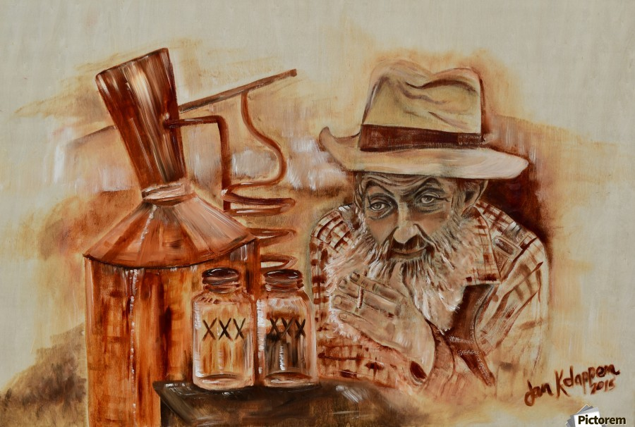 Popcorn Sutton - Coppershine  Print
