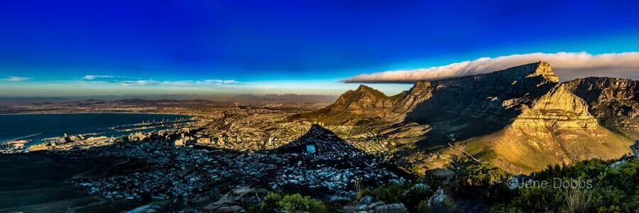 Cape Town's Table Mountain  Print