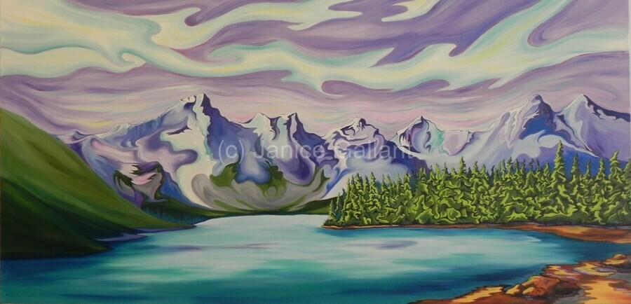 Beautiful Banff   Print
