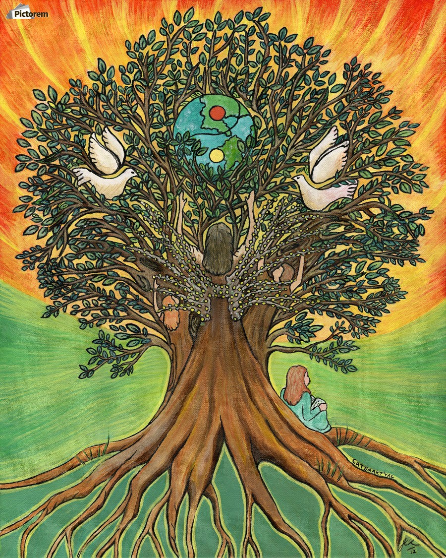 Rooted In The Tree Of Humanity  Print