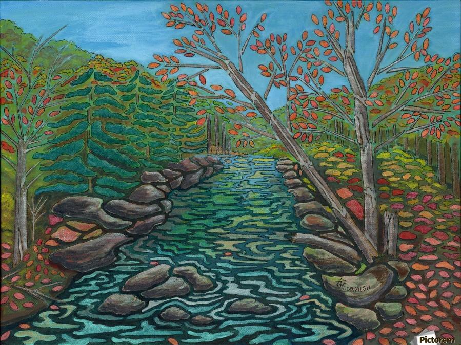 A River View  Print