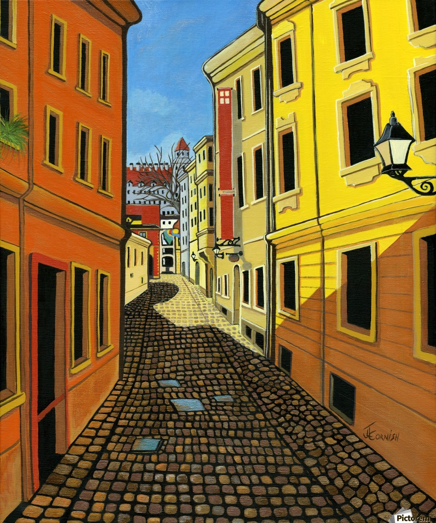 Colours of Europe  Print