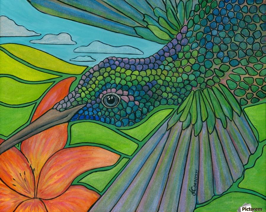 In To The Hummingbird's Eye  Print